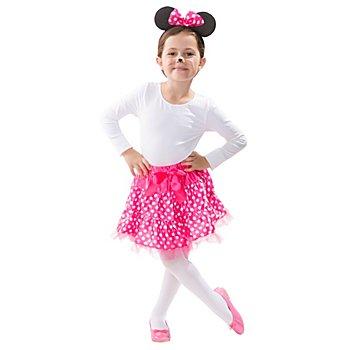 Maus Set für Kinder, pink/weiss