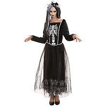 Skelett Kostüm für Damen