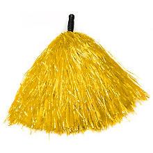 Pompon, jaune, en plastique