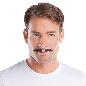 Moustache 'années 20', noir