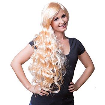 Langhaarperücke 'Volume', blond, hitzebeständig