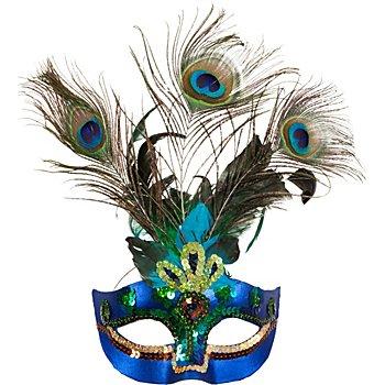Venezianische Maske 'Pfauenauge'