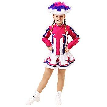 buttinette Garde Kostüm für Kinder, fuchsia/violett