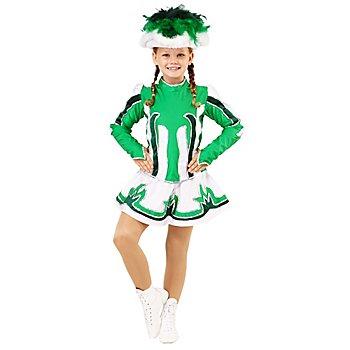 buttinette Garde Kostüm für Kinder, grün/dunkelgrün