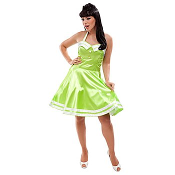 Robe Rock'n'Roll 'années 50', vert clair