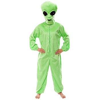 buttinette Alien Kostüm Unisex