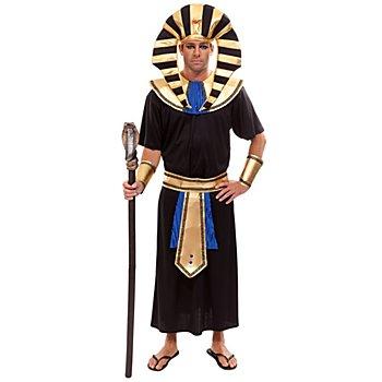 buttinette Déguisement 'Pharaon', noir/or