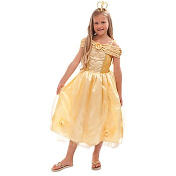 Robe princesse 'Lilly' enfant, or