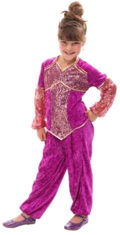 Bauchtanzerin Kostum Fur Kinder Pink Online Kaufen Buttinette