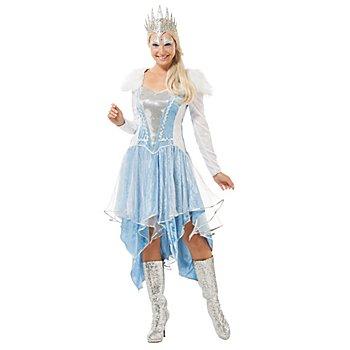 Eisprinzessin Kostüm, eisblau/silber