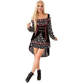 Piratenkostüm 'Lady Totenkopf'