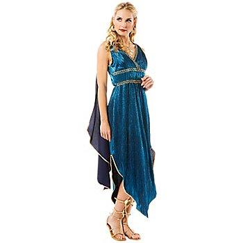 Déguisement déesse grecque, turquoise