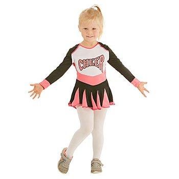 Cheerleader Kostüm für Kinder, pink