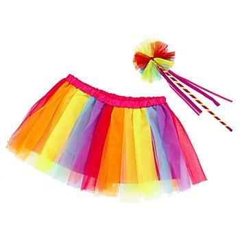 Jupe en tulle, multicolore
