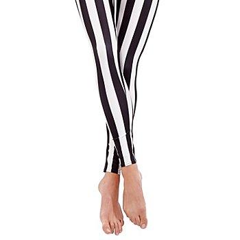 buttinette Legging, noir/blanc