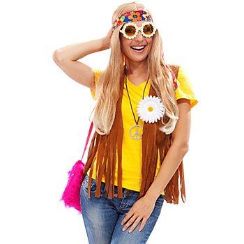Hippie Fransenweste für Damen