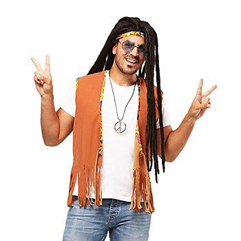 Gilet 'Hippie' à franges, pour hommes