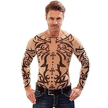 T-shirt 'tatouage', pour hommes