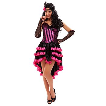 Kostüm Saloongirl 'Charlotte', pink