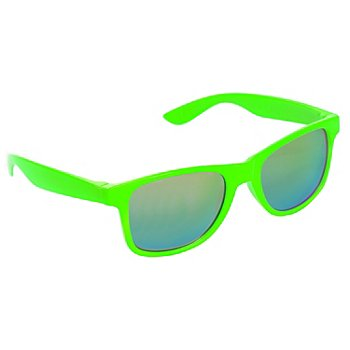 Brille neongrün