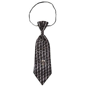 Krawatte Totenkopf