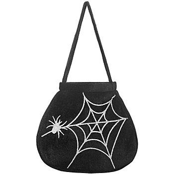 Tasche Spinne, schwarz
