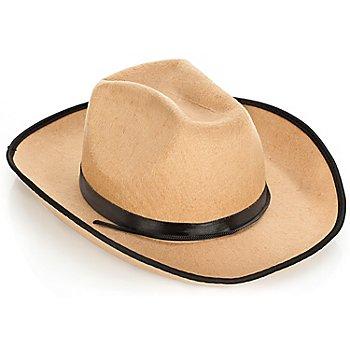 Chapeau de cowboy, beige
