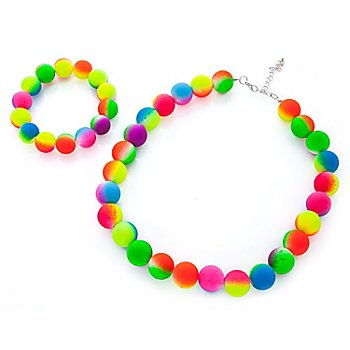 Schmuckset Perlen 'Rainbow'