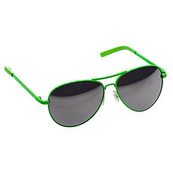 Pilotenbrille, grün