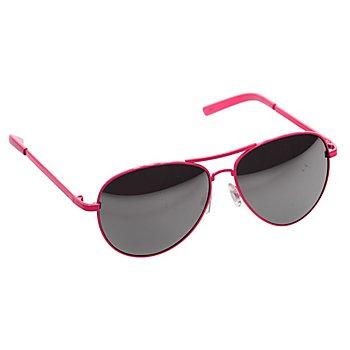 Pilotenbrille, pink