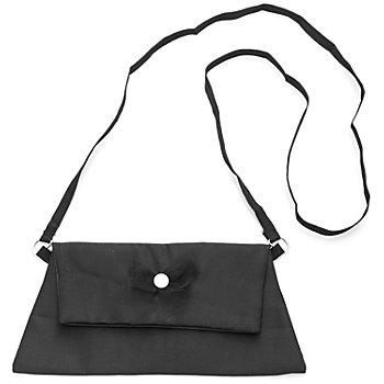 buttinette Tasche Clutch, schwarz