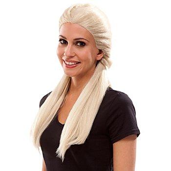 Perruque couettes 'Princesse des Glaces', blond