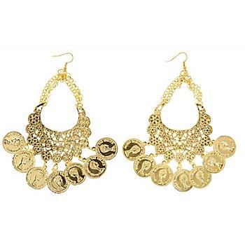 Ohrringe, gold