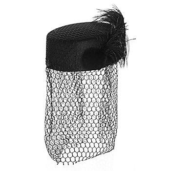 50s Hut, schwarz