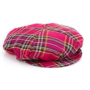 Bonnet, rose vif