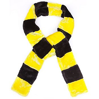 buttinette Schal Biene, gelb/schwarz