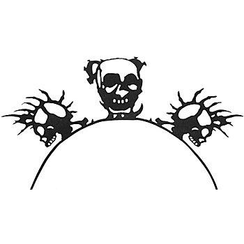 EULENSPIEGEL 3D-Wimpern Skull
