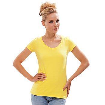 Shirt für Damen, gelb