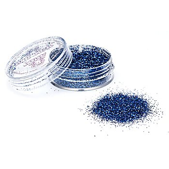 EULENSPIEGEL Kosmetik Glitzer, blau