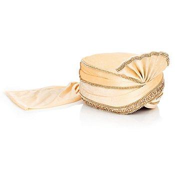 Orientalischer Turban, champagner