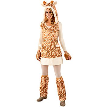 buttinette Déguisement 'girafe' pour femmes