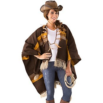 buttinette Poncho western