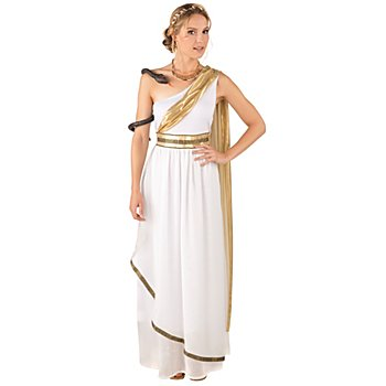 buttinette Kostüm Griechin, weiß/gold
