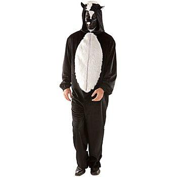 buttinette Stinktier Kostüm Unisex, lang