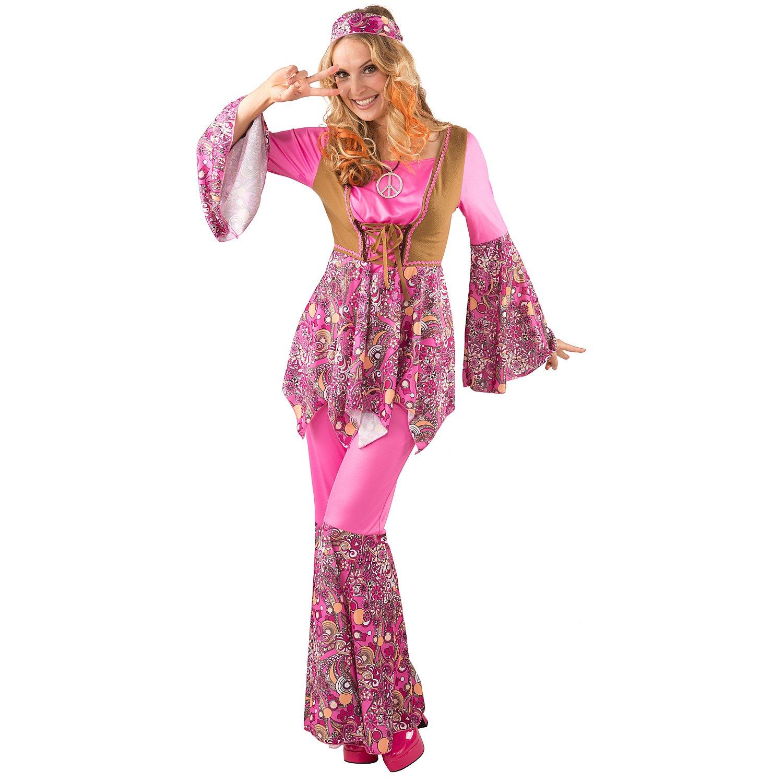 hippie kostüm 'san francisco' für damen