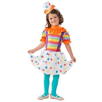 Clown Kostüm für Kinder, bunt