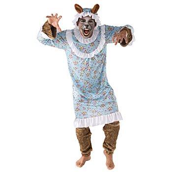 Wolfskostüm 'Wolf im Schlafrock'