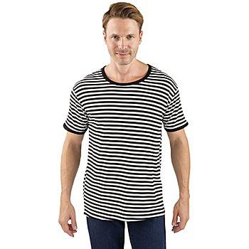 T-shirt à manches courtes, noir/blanc