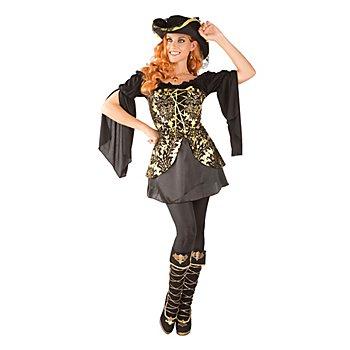 Piratenkostüm 'Goldschatz' für Damen