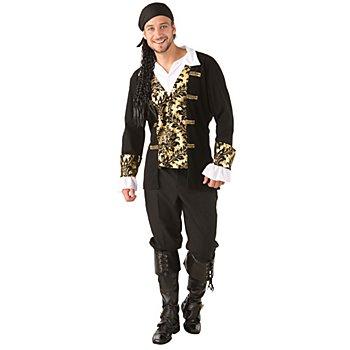 Piratenkostüm 'Goldschatz' für Herren